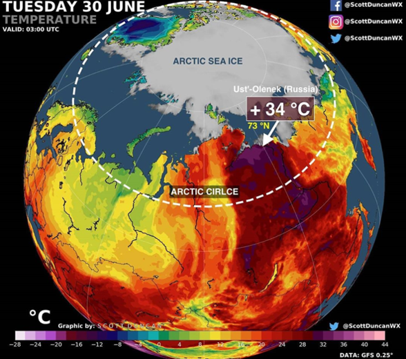 Alarming Arctic Heatwave Continues.
